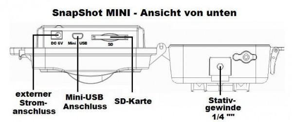 Anschlüssen der Dörr SnapShot MINI - Grafik Dörr