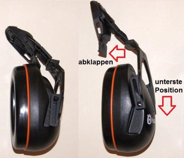 Gehörschutz Forsthelm