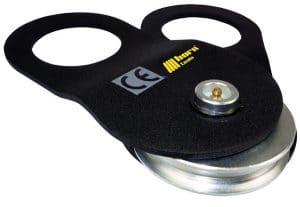 umlenkrolle für Stahlseile bis 10 mm Durchmesser Bild: horntools