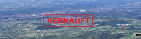 Die Waldstücke liegen in einer landschaftlich sehr reizvollen Region - Bild: Google-Maps
