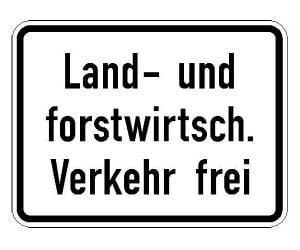 Forstwirtschaftlicher Verkehr