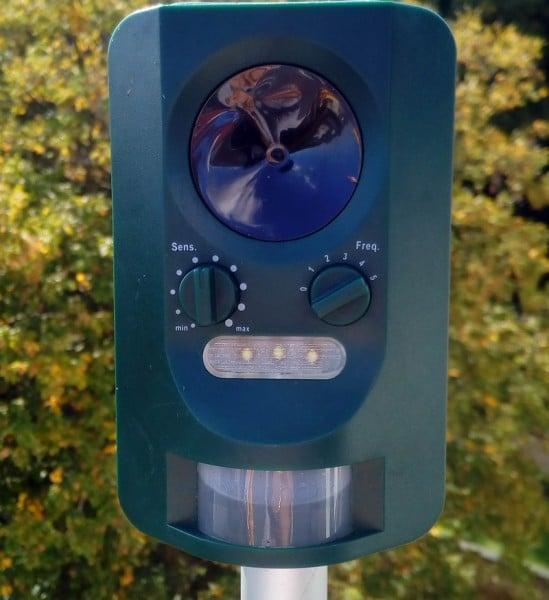 Der Ultraschall Tiervertreiber von Florabest war im Lagzeittest nicht ganz dicht - Bld: Wald-Prinz.de