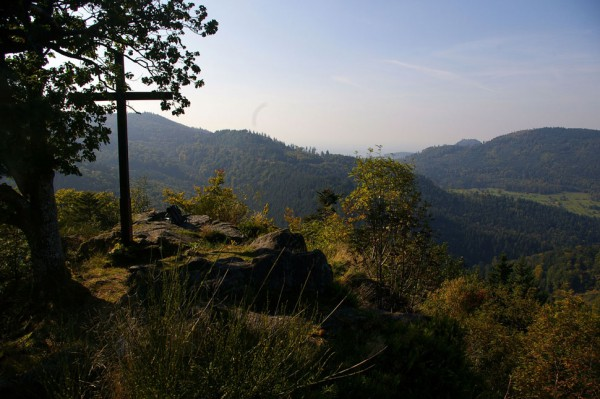 Schartenbergrundweg aussicht-vom-kreuzfelsen