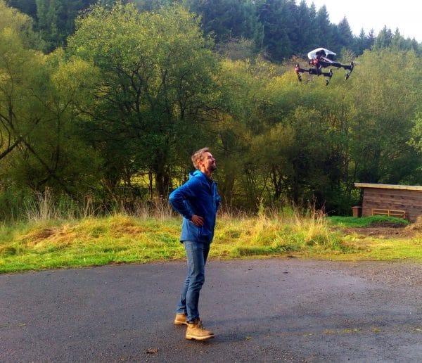DJI-Inspire 1 PRO-Drohne
